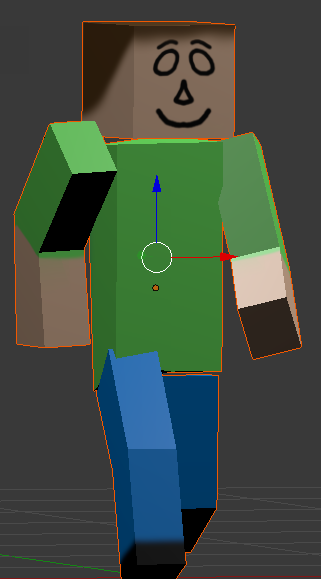 CubeDude, an example 3D model