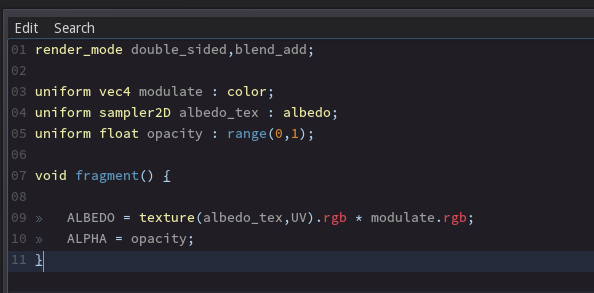 Godot Engine - Making shaders more accessible