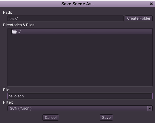 how to clear a scene godot