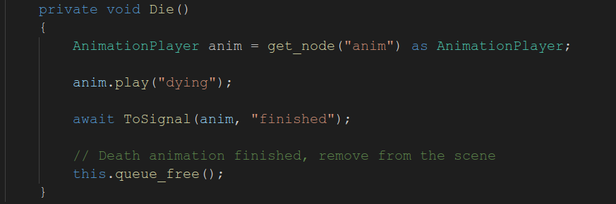 Mono async/await example