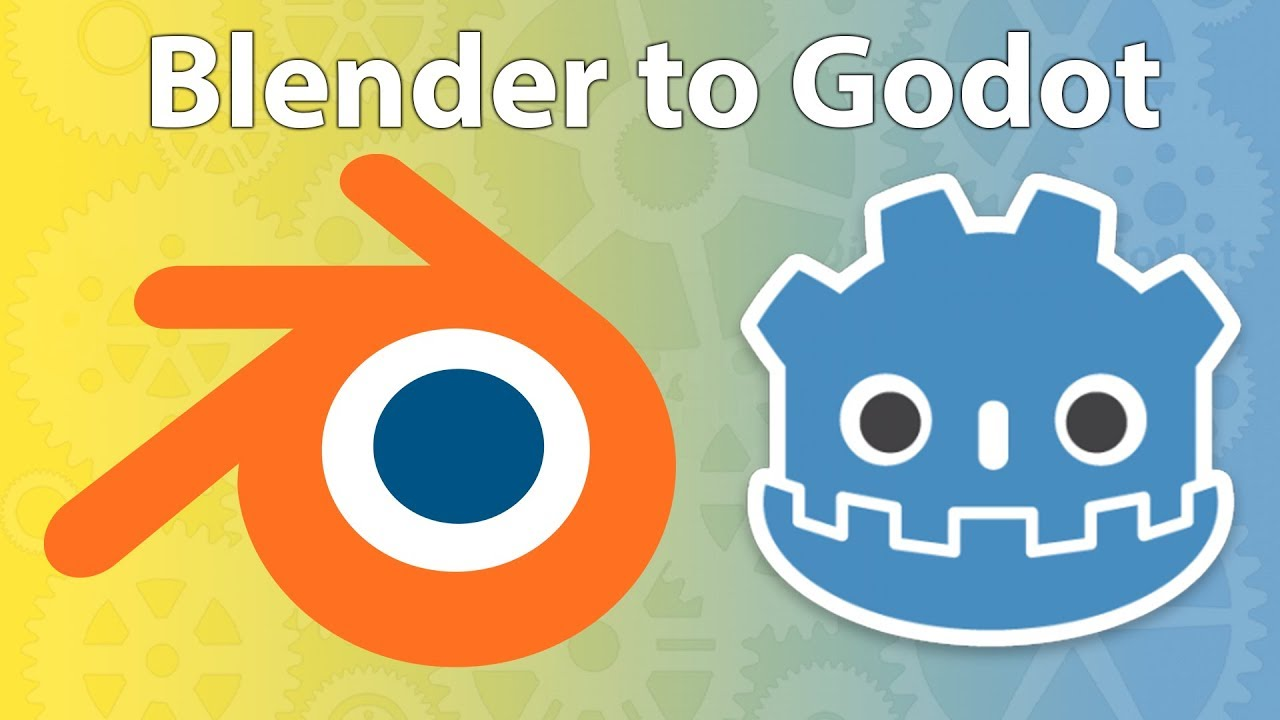 Godot Engine - Importing 3D assets from Blender (GameDev tv)