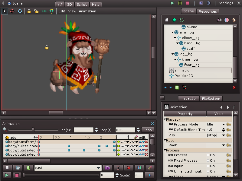 Godot Engine - Godot gets a brand new animation editor (with