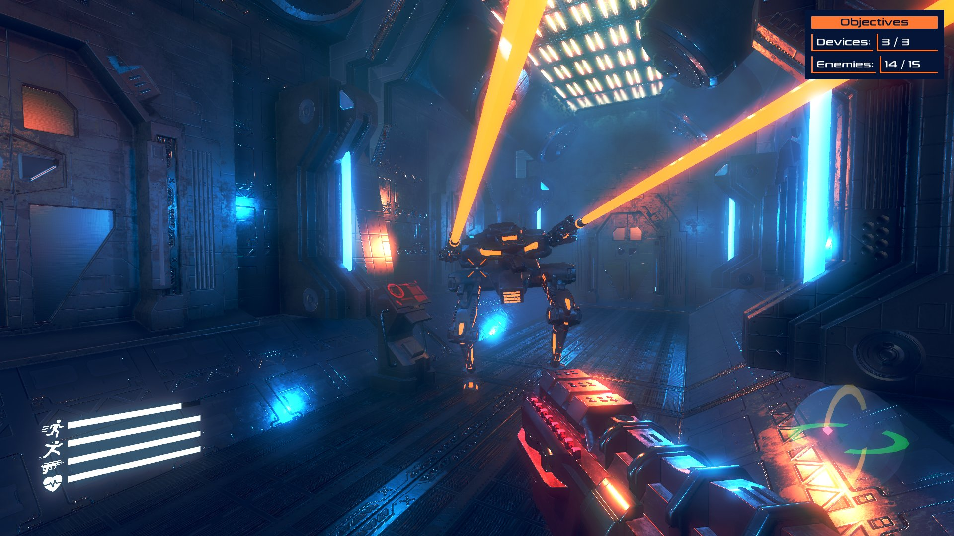 Human Diaspora Game by Leocesar3D made with Godot Engine