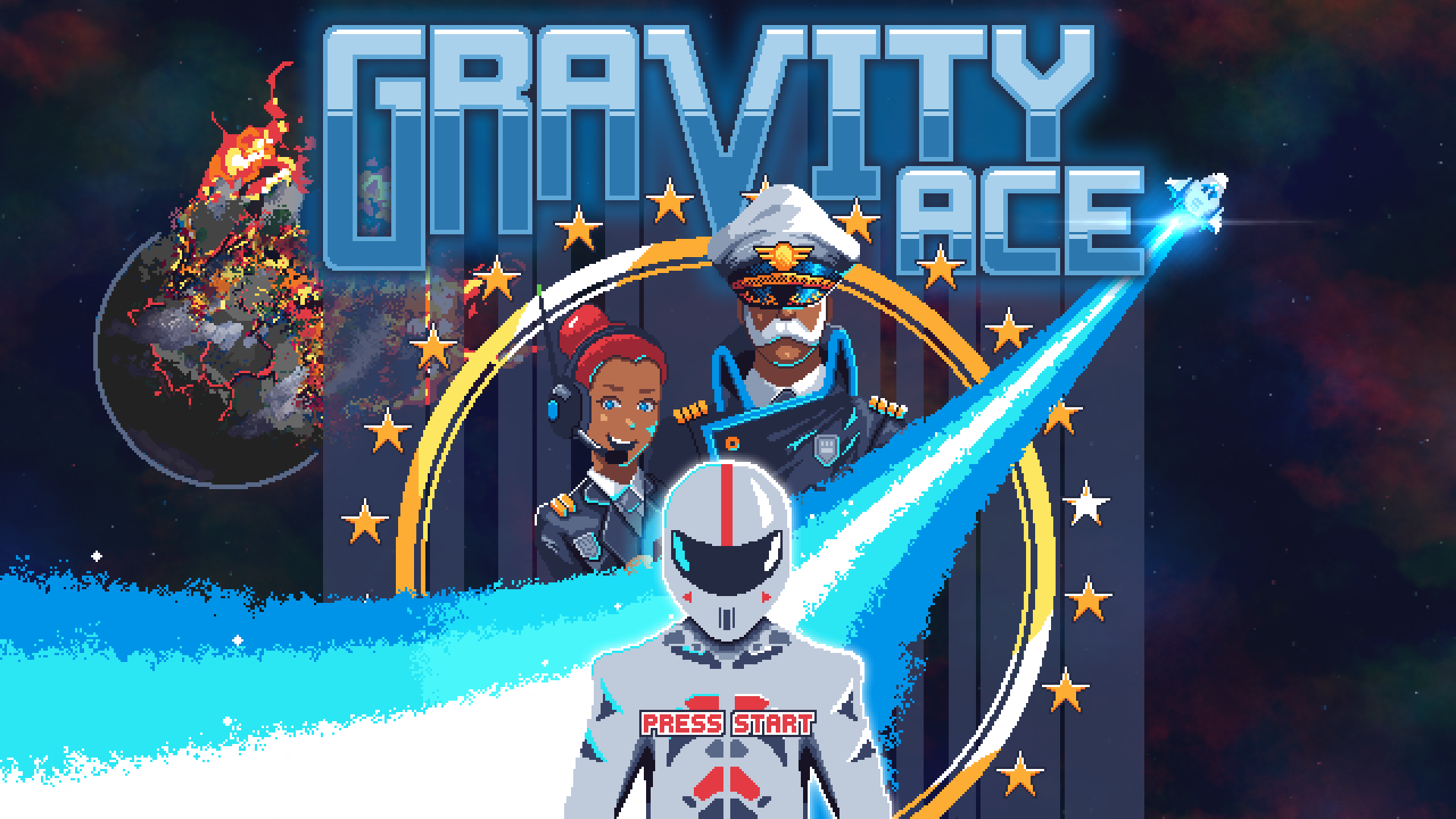 Gravity Ace - Released in October 2020 (early access) - Platforms: Windows, Linux
